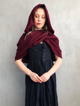 Restock 2021: Mythic Cowl in Boiled Wool (Oxblood)