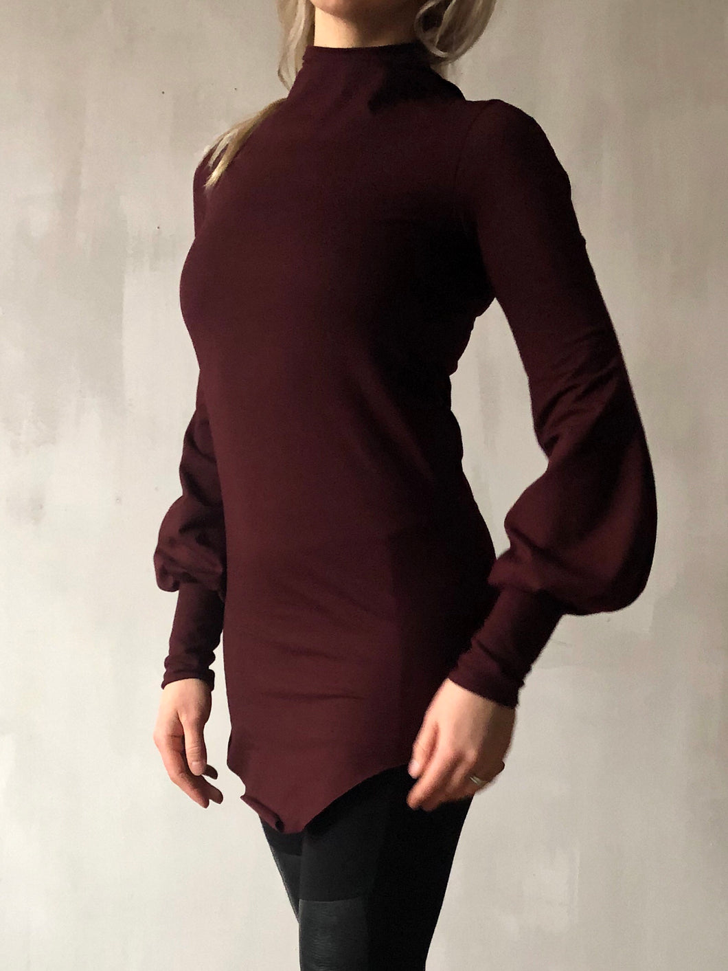 Winter 2020: Blood Roses Hourglass Longsleeve Tunic