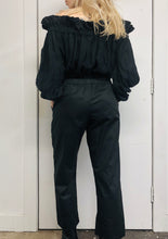 Sample Sale II: Cotton Trousers w/Corset Belt (S)