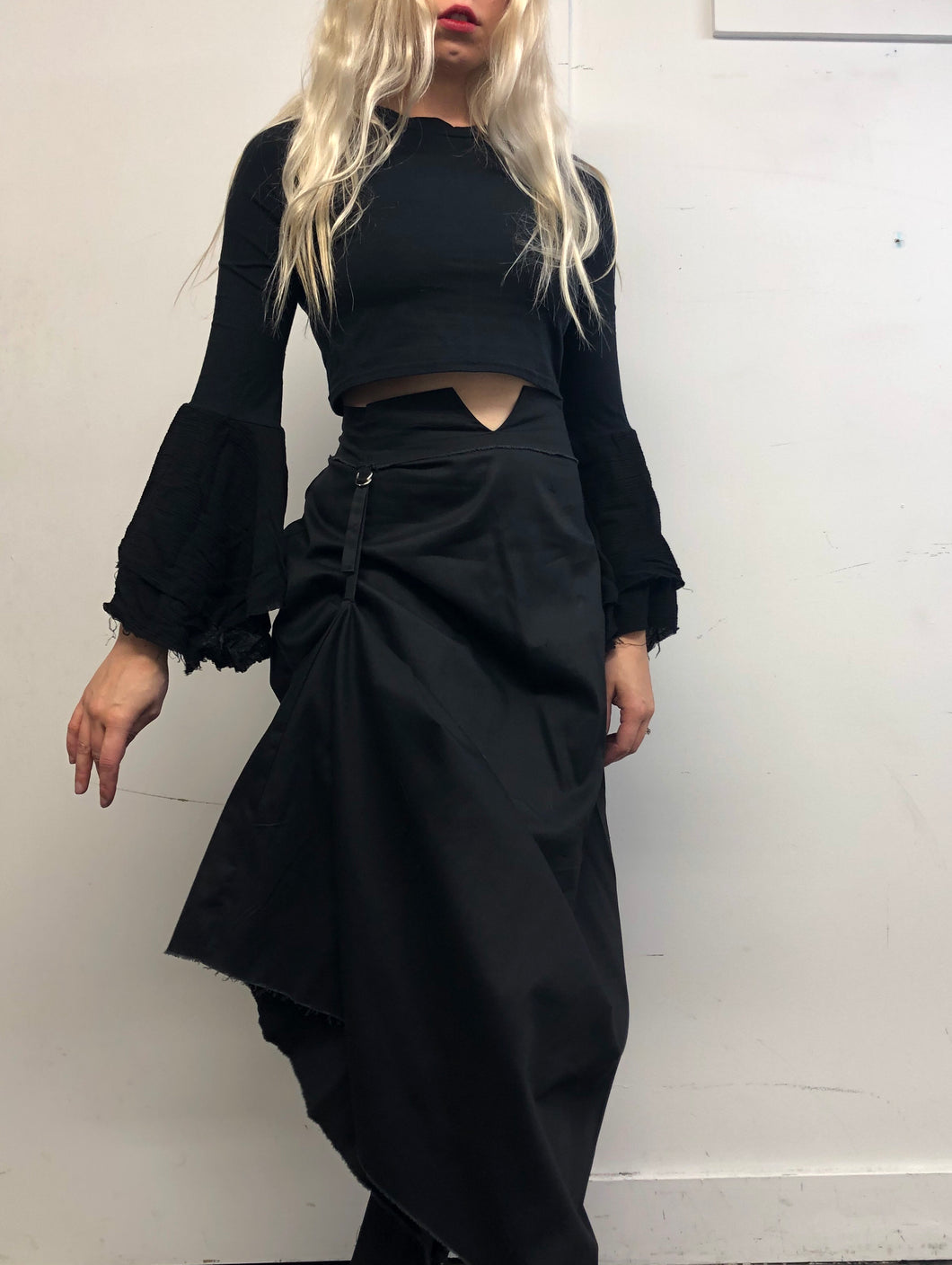 Sample Sale Day Two: Notch Waist Maxi Skirt (S/M)