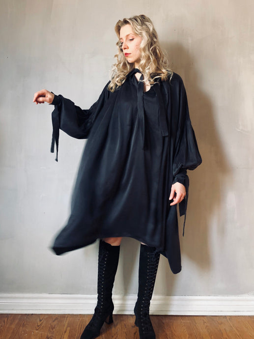 Winter 2020: Shirtdress in Silk Charmeuse (Limited Edition)