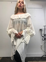 Sample Sale Day Two: Ruff Collar Tunic in Ivory (One Size)