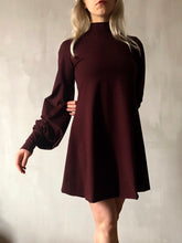 Winter 2020: Blood Roses Bishop Sleeve Mini Dress