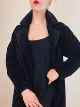 Sample Sale 2021: Alpaca Velvet Opera Coat (S/M)