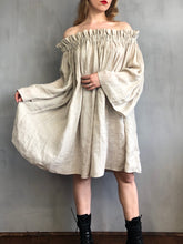 Spring 2021: Paperbag Tunic in Natural Linen Voile (Limited Edition)