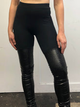Sample Sale Day Two: Crinkled Vinyl Leggings (S)