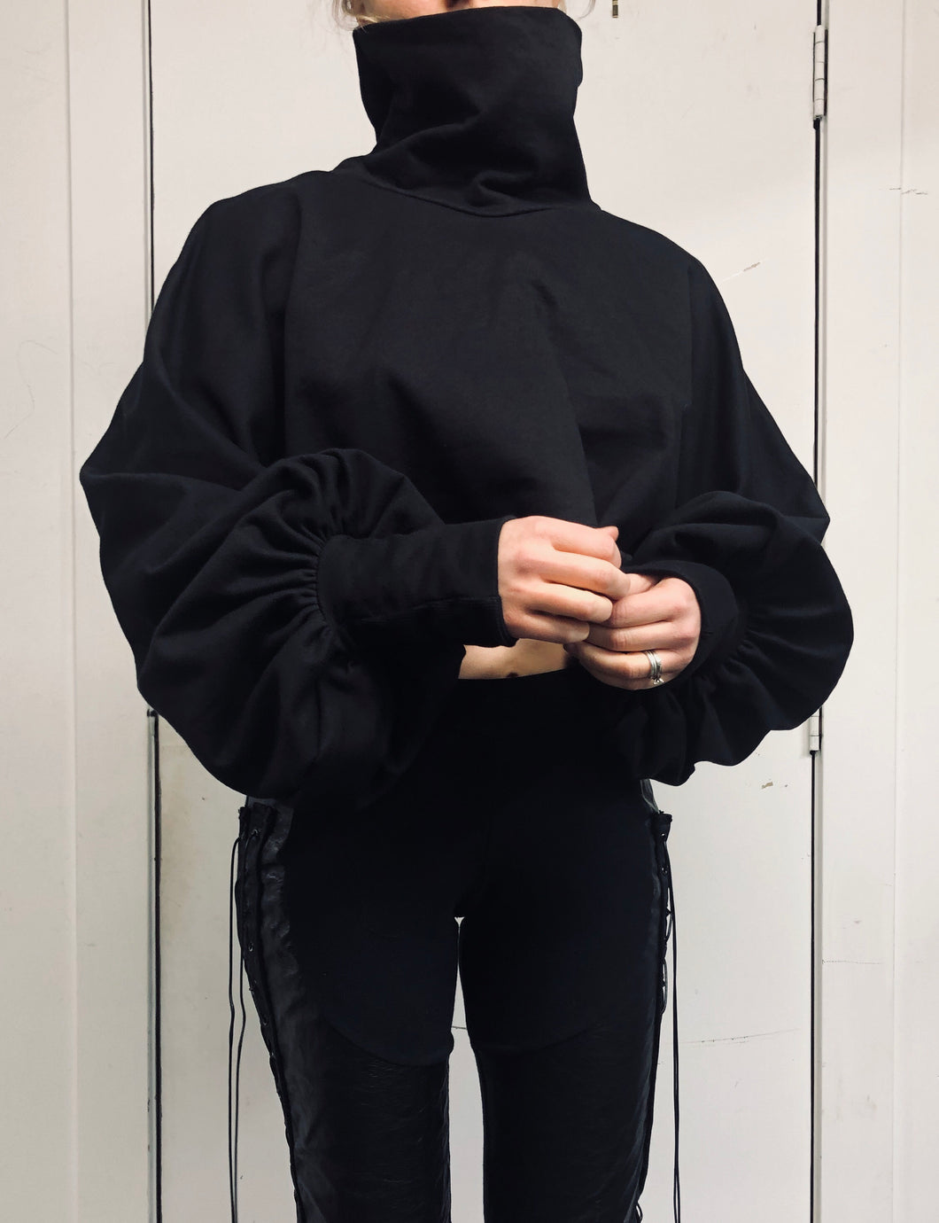 Sample Sale II: Funnel Pullover (S/M, Oversized)
