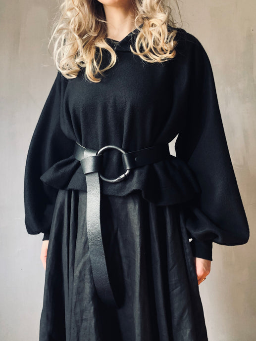 Winter 2020: Iron O-Ring Belt w/Loop Through Closure
