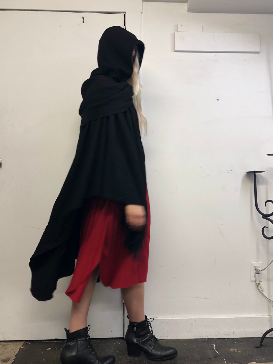 Sample Sale Day Two: Mythic Cape in Wool Blend (One Size)