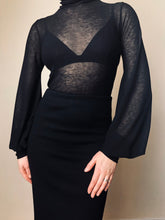 "Winter 2021:  ""Lux"" Semi-Sheer Hourglass Tunic"