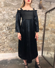Summer 2020: Off Shoulder Midi Dress in Crinkle Silk