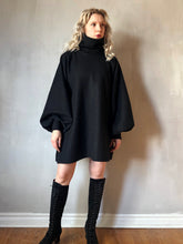 Winter 2020: Pleated Sleeve Funnel Tunic w/Corset Lace
