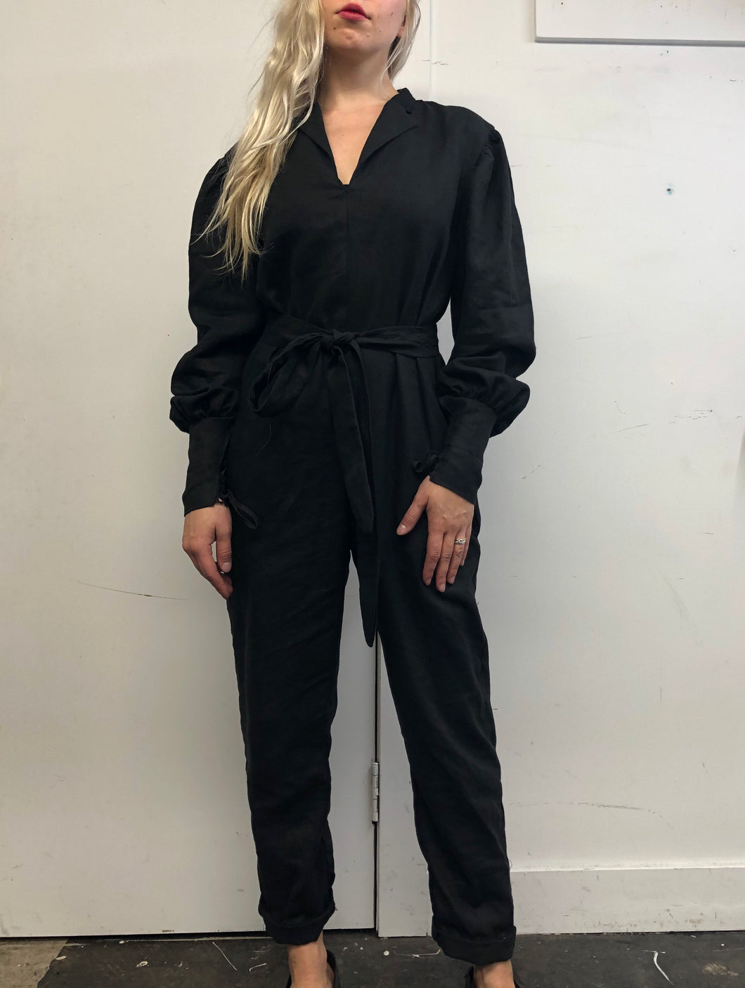 Sample Sale Day Two: Jumpsuit in Pure Linen (M)