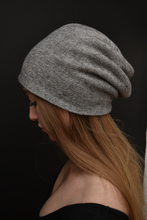 Capsule FW19: Slouchy Toque in Light Gray Melange (Limited Edition)