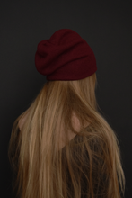 Capsule FW19: Slouchy Toque in Oxblood (Limited Edition)