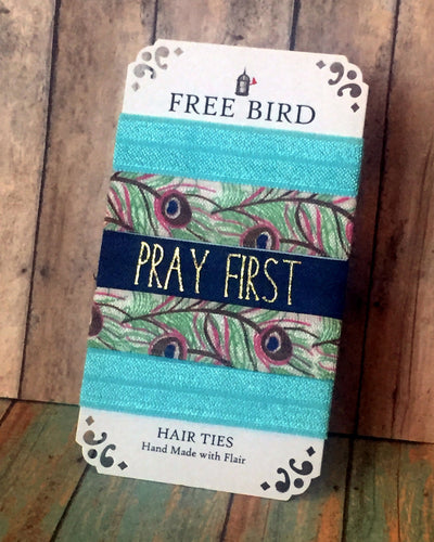 Pray First Hair Ties