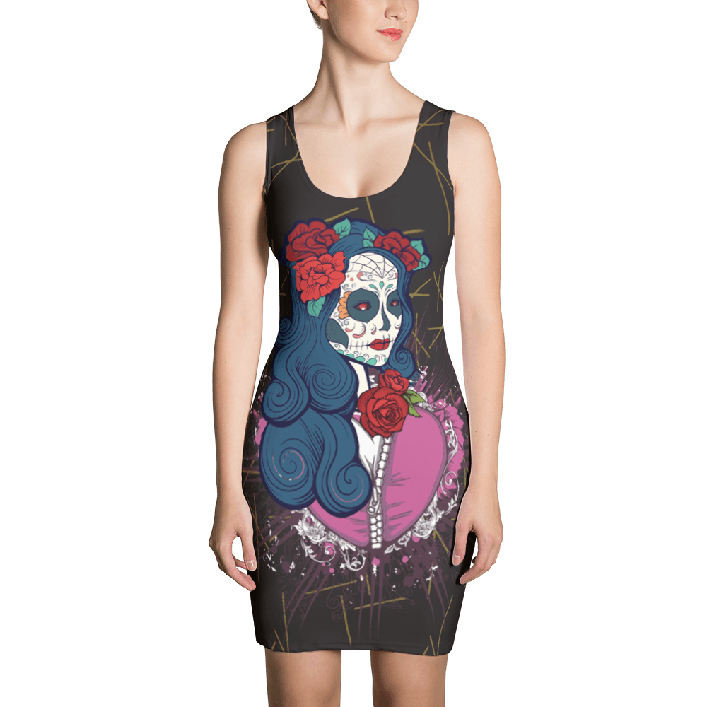 Calavera Queen Of The Sugar Skulls Dress The Skullection XS
