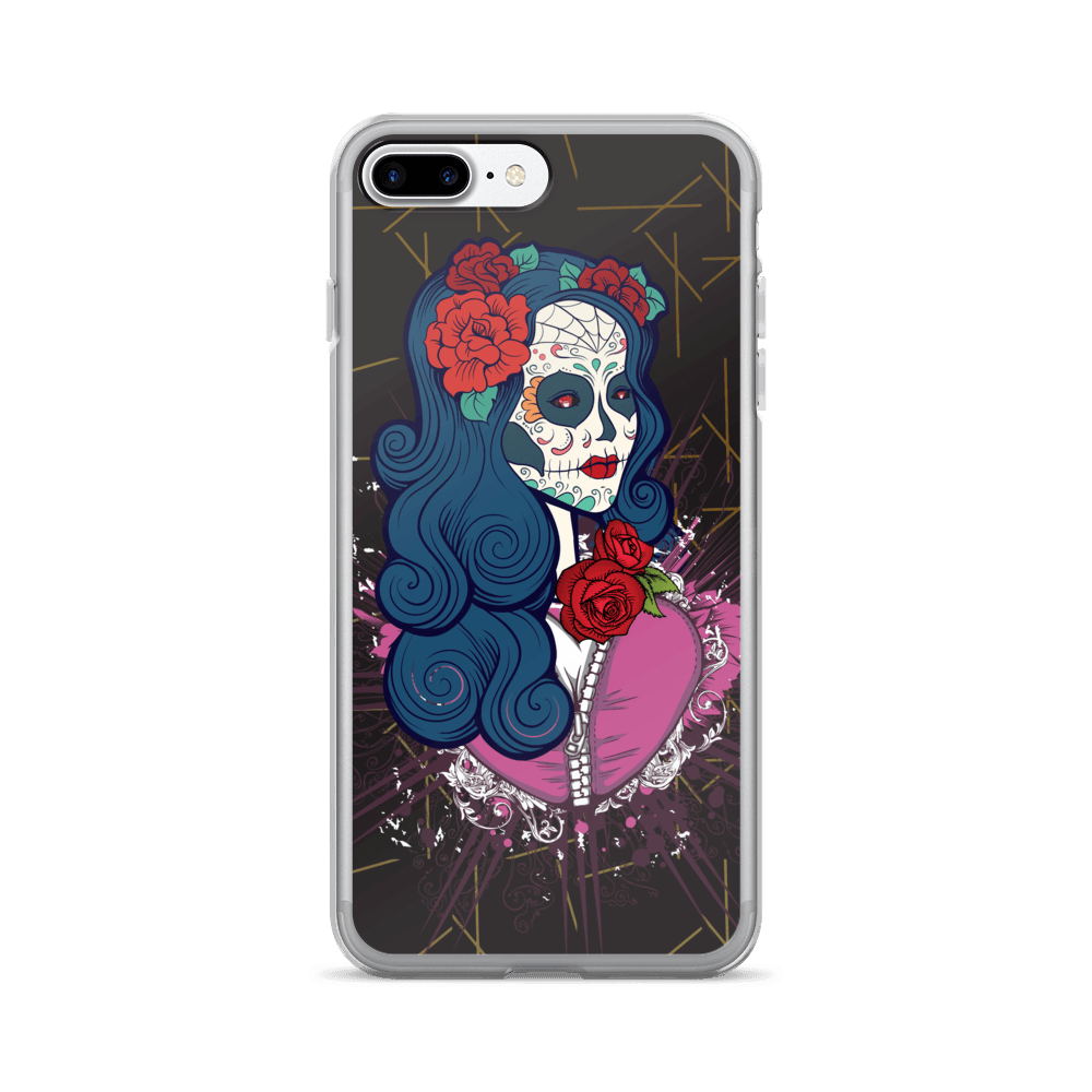 Calavera Queen Of The Sugar Skulls iPhone Case The Skullection iPhone 7 Plus/8 Plus