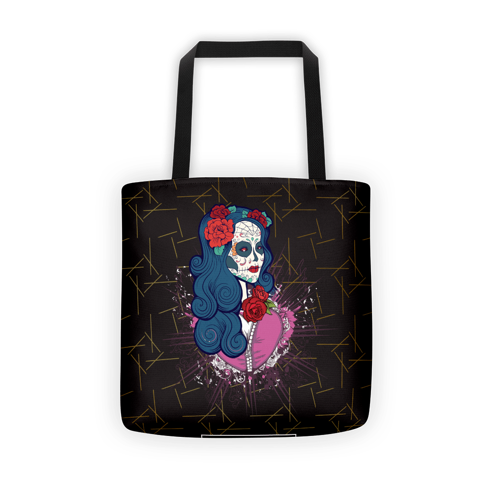 Calavera Queen Of The Sugar Skulls Tote Bag The Skullection