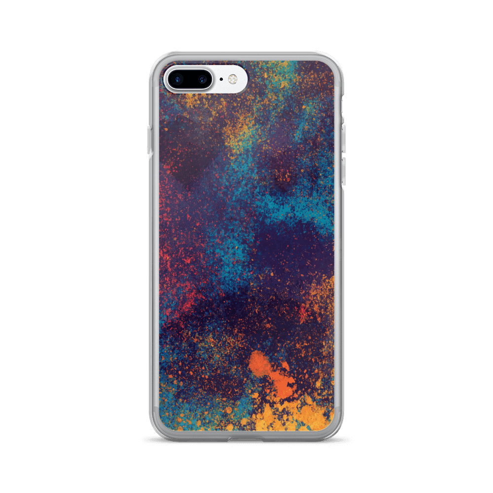 Colorful Grunge Spots iPhone Case The Skullection iPhone 7 Plus/8 Plus