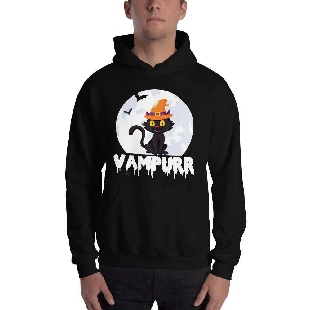Halloween Graphic Hoodie The Skullection Black S
