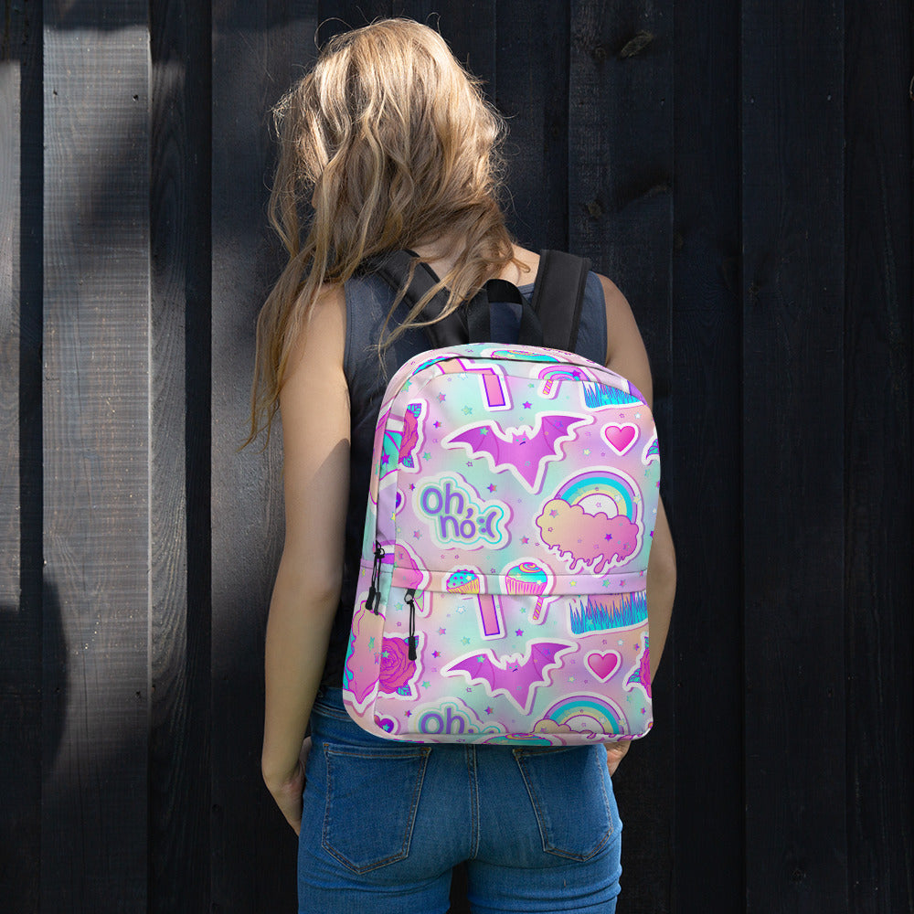 Colorful Candies Sweets Rainbow Backpack