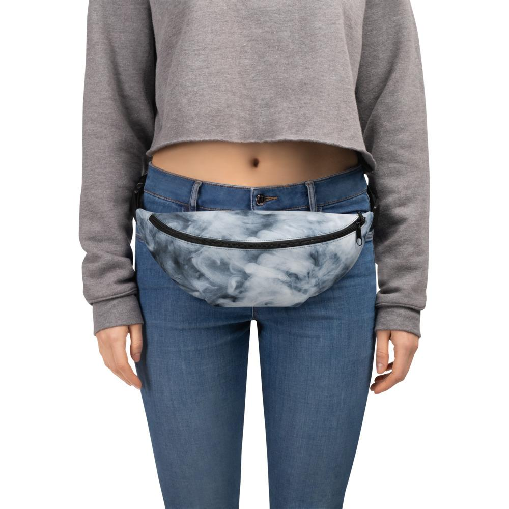 Dark Smoke Clouds Fanny Pack The Skullection S/M
