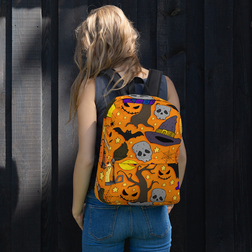 Cartoon Colorful Festive Thematic Backpack