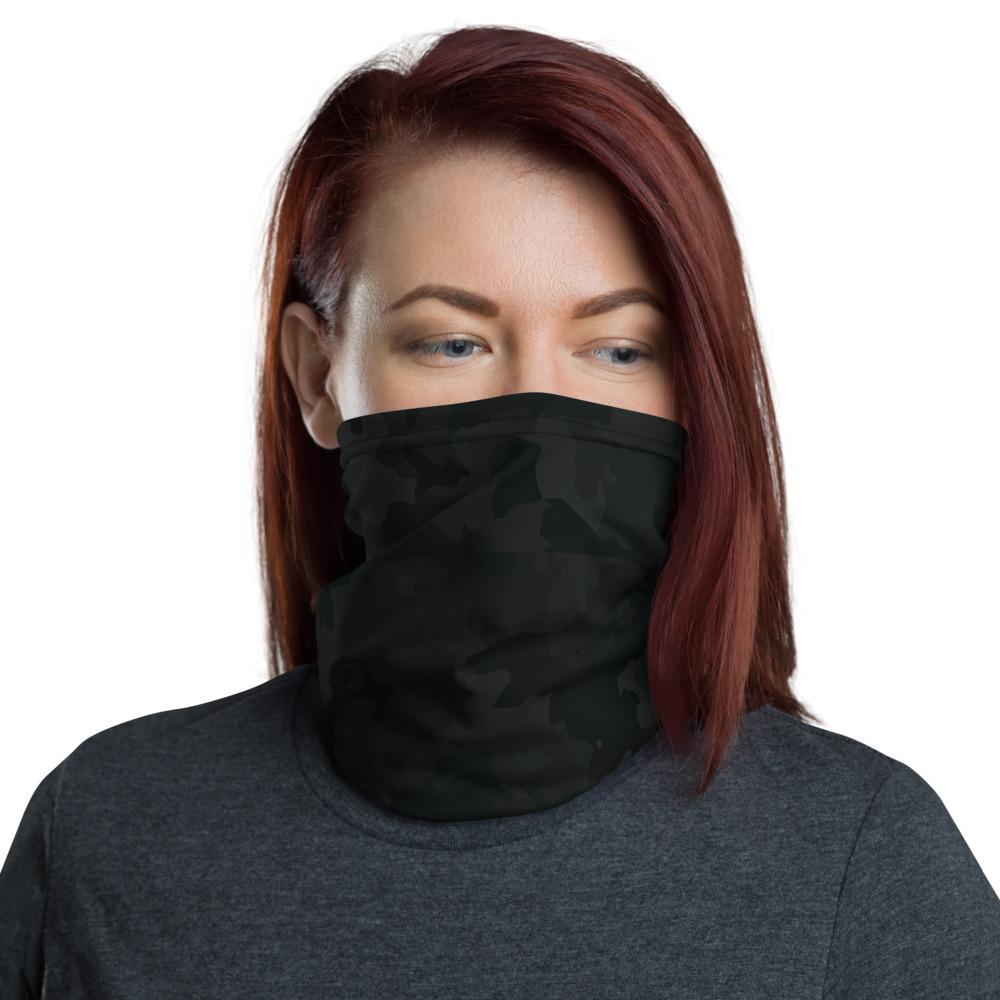 Black Camo Neck Gaiter The Skullection