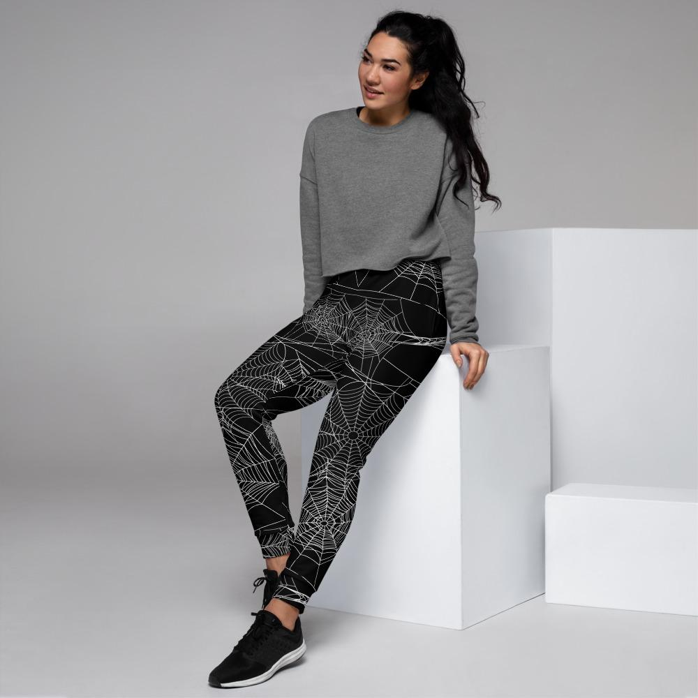 Spider Web Women's Joggers The Skullection XS