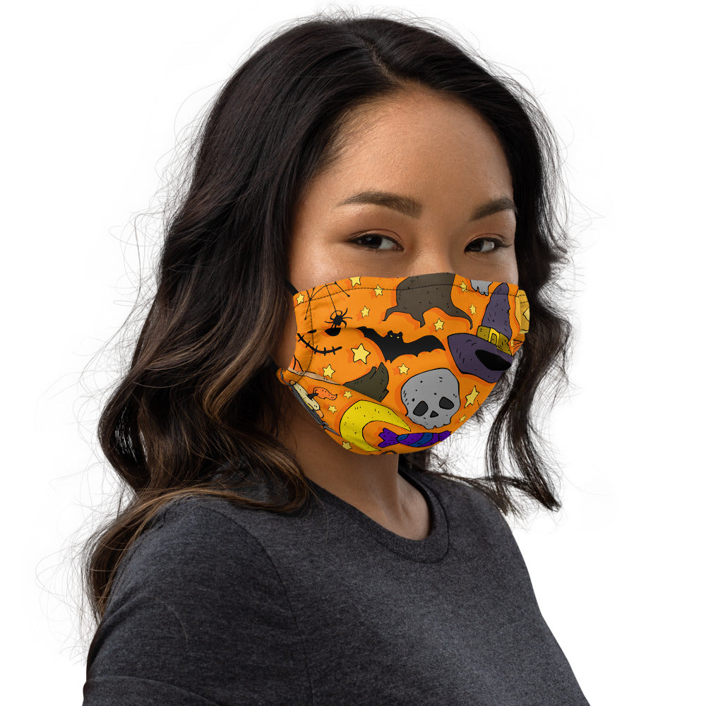 Cartoon Colorful Festive Thematic Face mask