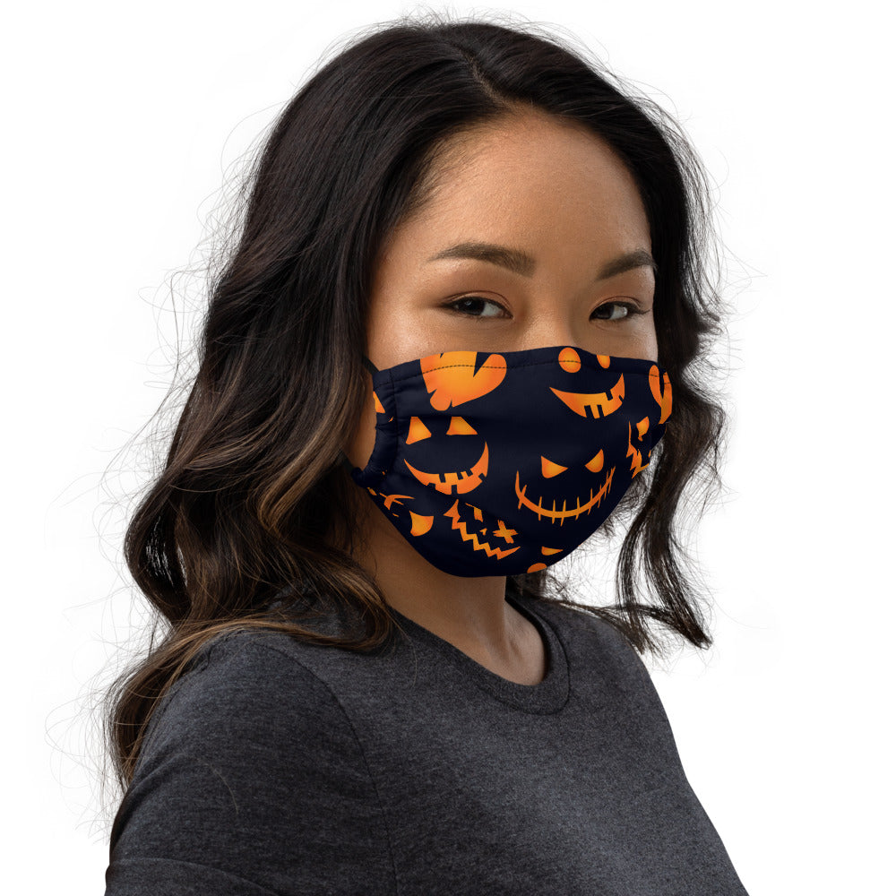 Pumpkin Halloween Face mask