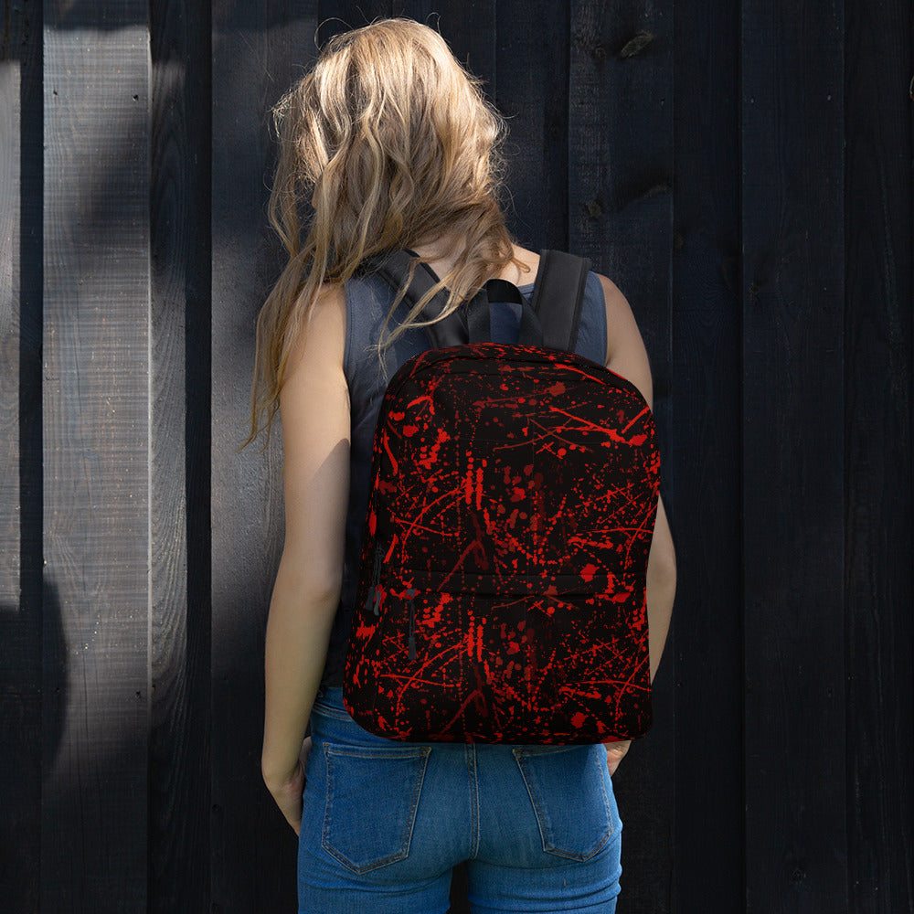 Blood Stains Halloween Backpack