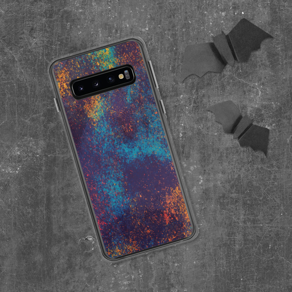 Colorful Grunge Spots Samsung Case
