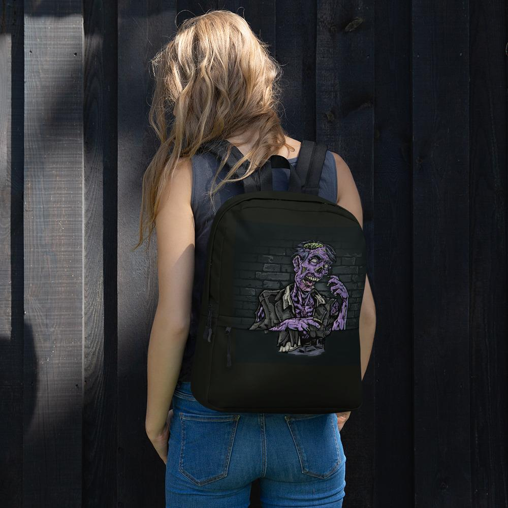 Walking Dead Zombie Backpack The Skullection