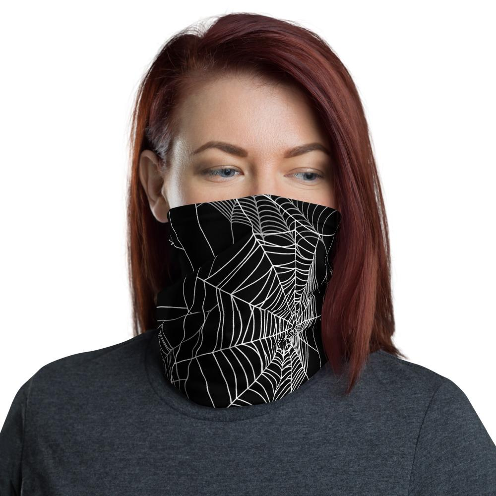 Spider Web Neck Gaiter The Skullection