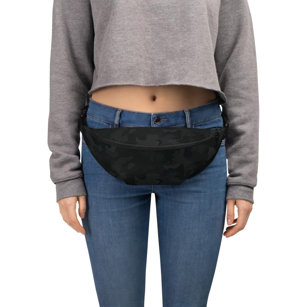 Black Camo Fanny Pack The Skullection S/M