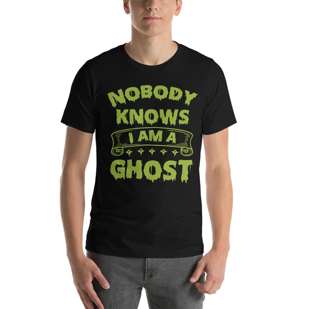 Nobody Knows Ghost T-Shirt The Skullection Black XS