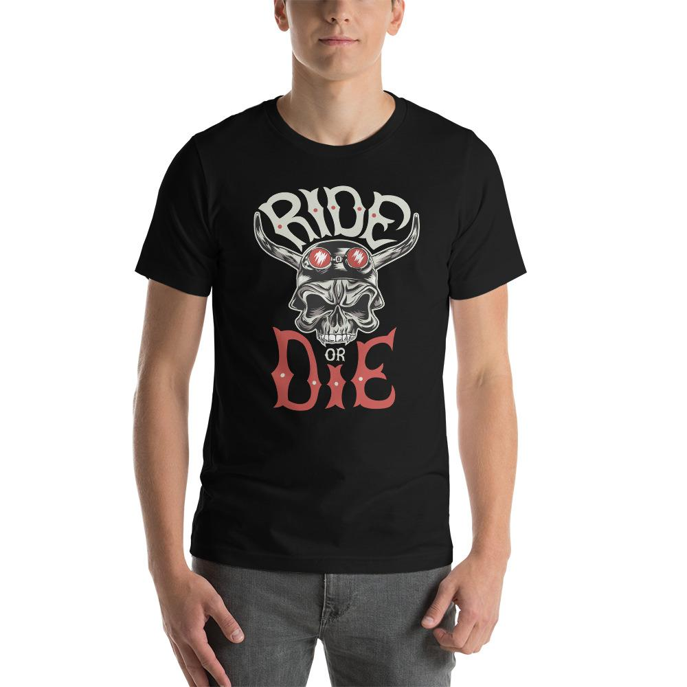 Ride Or Die T-Shirt The Skullection Black XS
