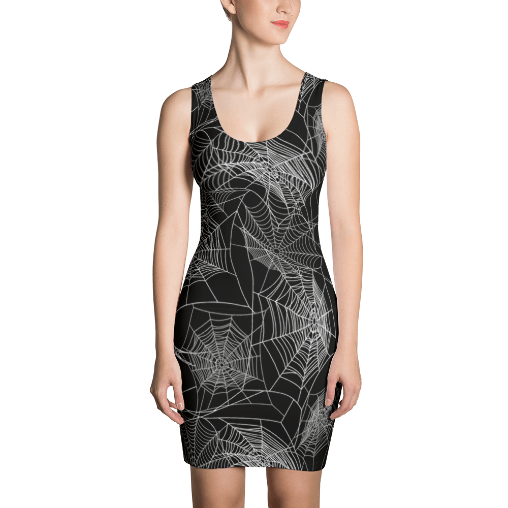 Spider Web Dress The Skullection XS