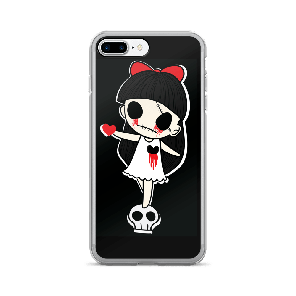 Tears Of Blood iPhone Case The Skullection iPhone 7 Plus/8 Plus