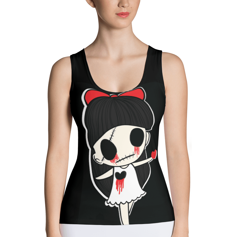 Tears Of Blood Tank Top The Skullection XS