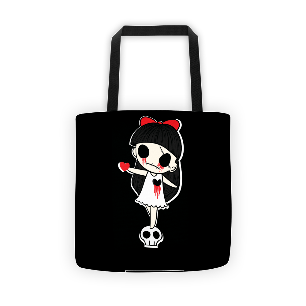 Tears Of Blood Tote Bag The Skullection