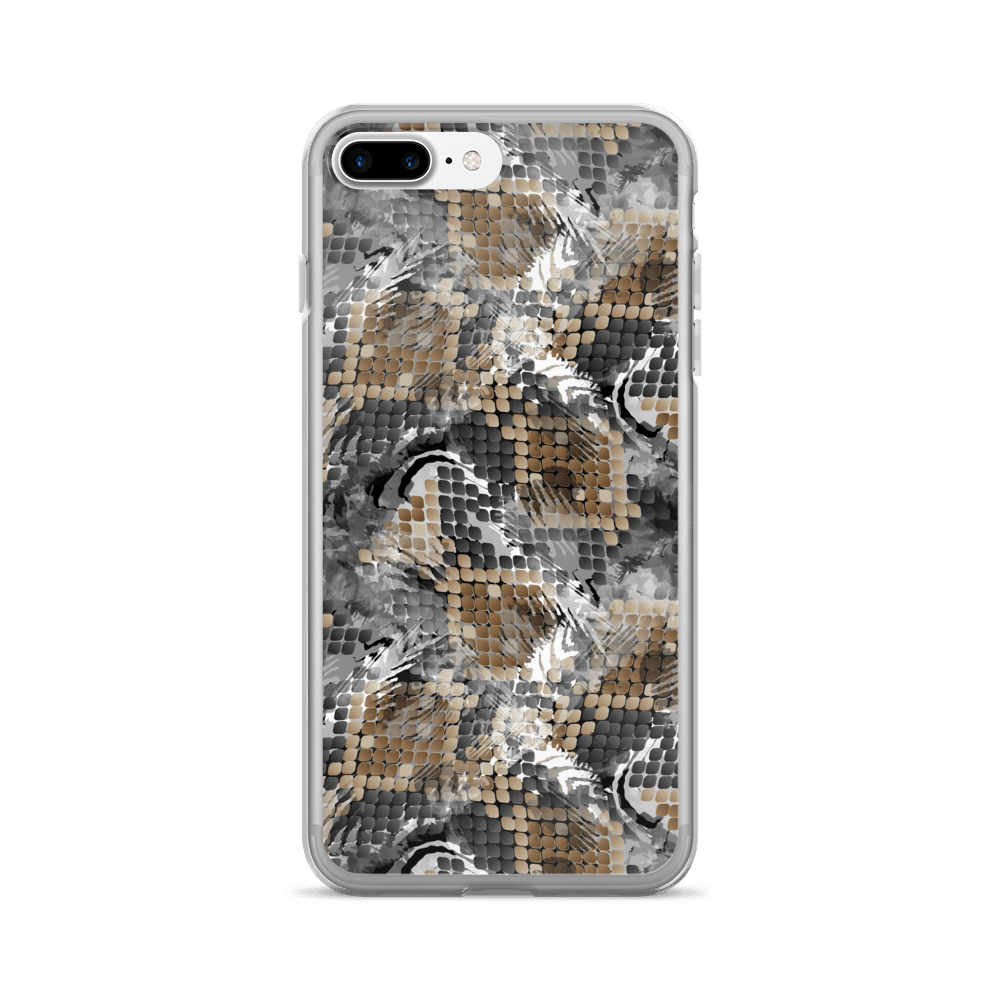 Wild Snake Skin iPhone Case The Skullection iPhone 7 Plus/8 Plus