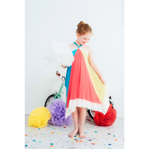 CANDY SPLICE DRESS