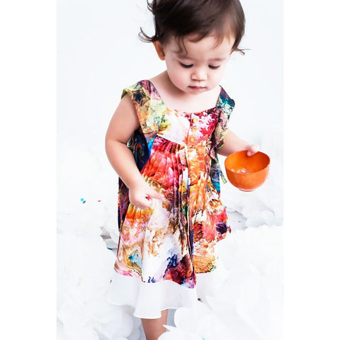 LIL' MADAME BUTTERFLY DRESS