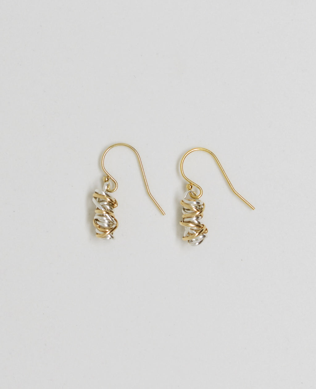 Mixed Twist Earring-mini (gold)Dianne Rodger Jewellery