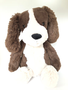 Medium Bashful Fudge Puppy dessinée à Londres Jellycat BAS3SPAN