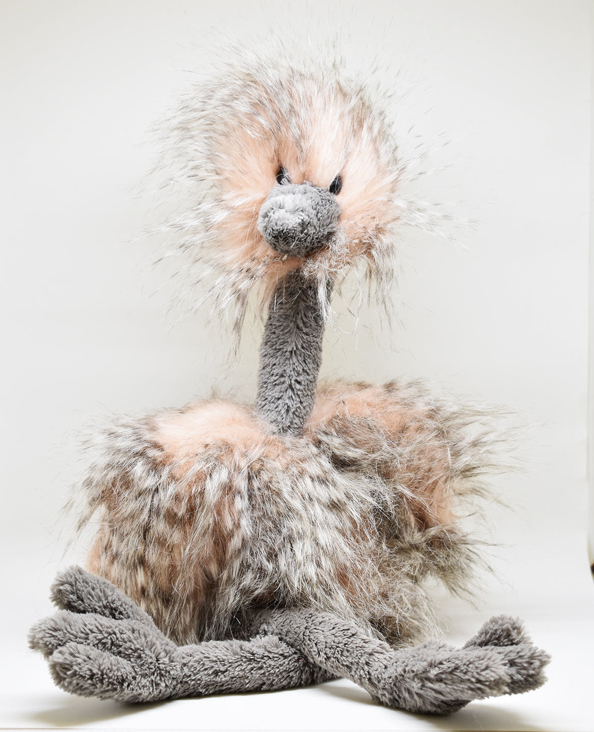 Odette Ostrich medium Londres Jellycat