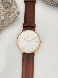 Montre Classic Durham 38 mm Inspiration Britannique, Daniel Wellington